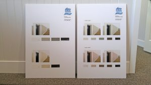 Remdal interior painting color board