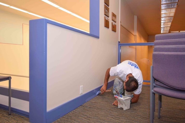 Vancouver Racquet Club – Interior Painting